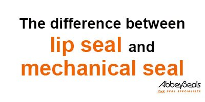 The Difference Between Lip Seal and Mechanical Seal