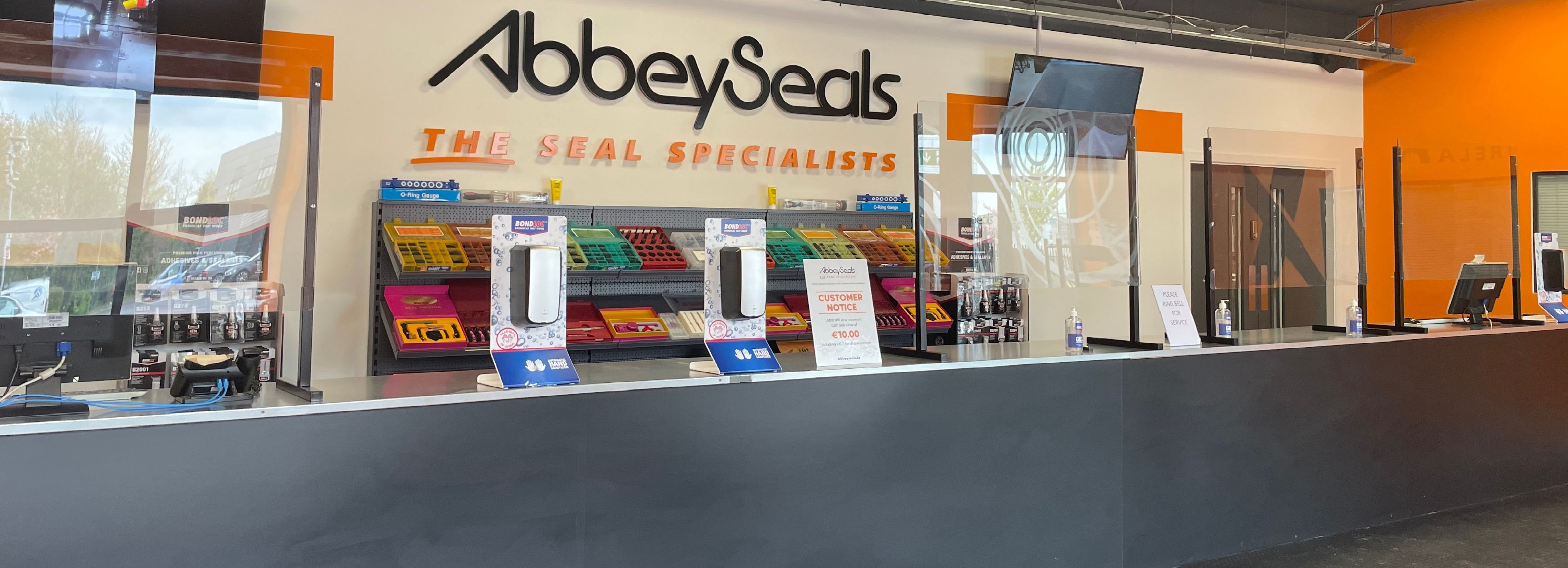 Abbey Seals new premises